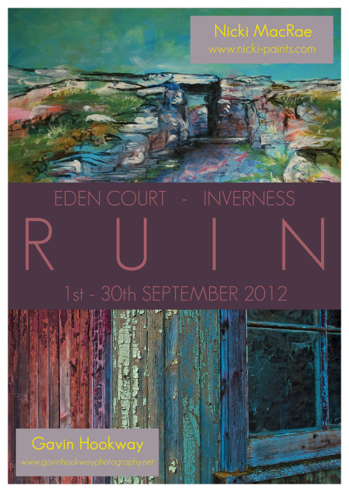 Ruin Exhibition Poster