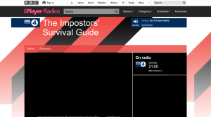 BBC Radio 4 - The Imposters' Survival Guide