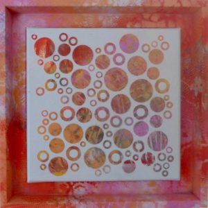 'Dots No9' painting by Nicki MacRae