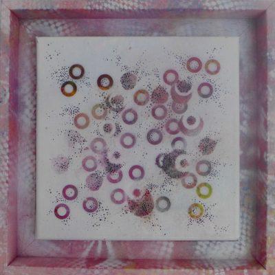'Dots 1' painting by Nicki MacRae