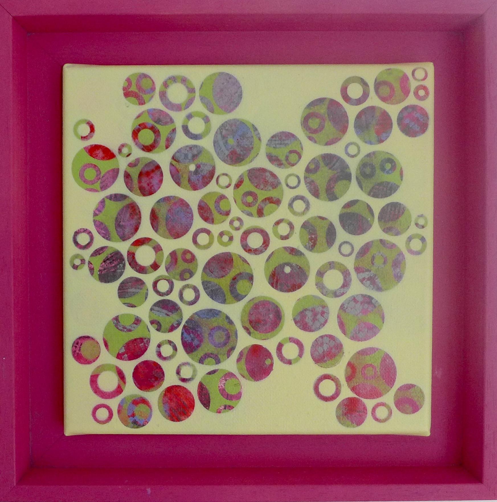 'Dots 11' painting by Nicki MacRae